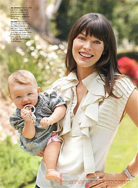 milla jovovich y sus hijos milla jovovich y su hija ever en cookie magazine