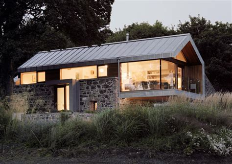old stone highway house modern future forward design renovation of derelict barn in ireland nesting