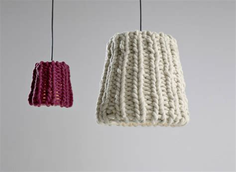 knitted light shade knitted accents that will turn your house into a home