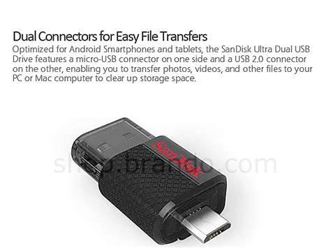 Usb Otg Dual Drive sandisk ultra 174 dual usb drive otg