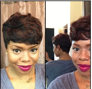 shrt hair styles bowl cut with sew jns sew in short cut protective style short haircuts