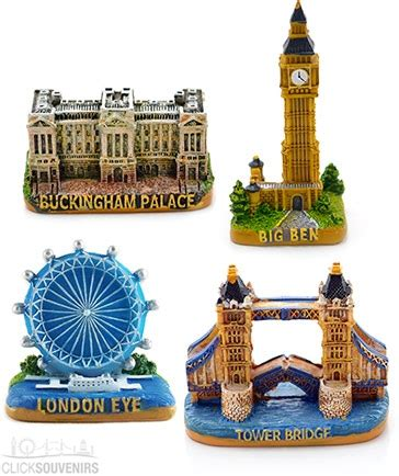 Souvenir Gift Miniatur Tower Bridge Set Of Four Souvenir Models Want It