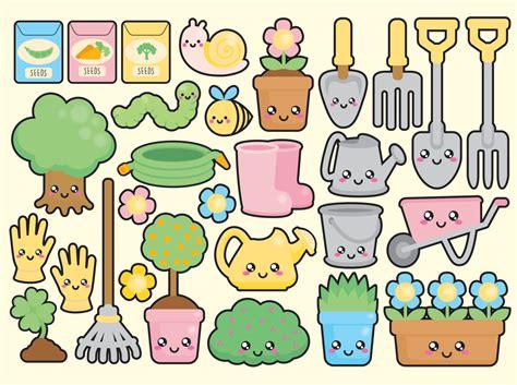 kawaii clipart premium vector clipart kawaii gardening by