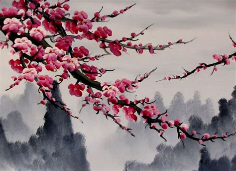 images of cherry blossoms best 25 cherry blossom painting ideas on