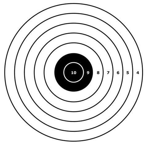 printable targets a4 other hobbies target pack contains 10 different