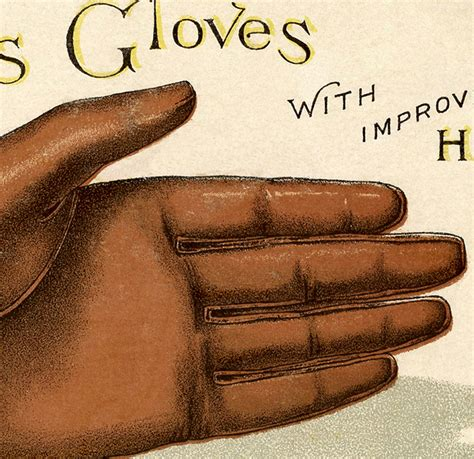 fun vintage leather gloves image  graphics fairy