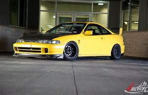black and yellow 1998 acura integra gs cool cars