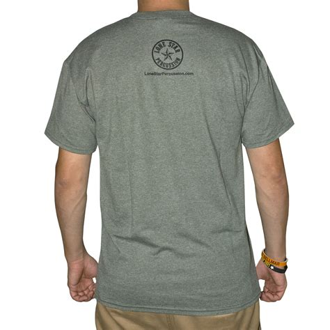 Promark T Shirt lone percussion paradiddle t shirt lsp pd