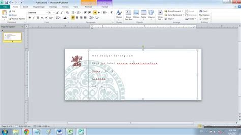 tutorial membuat label undangan word 2010 membuat undangan di ms word 2010 cara membuat label