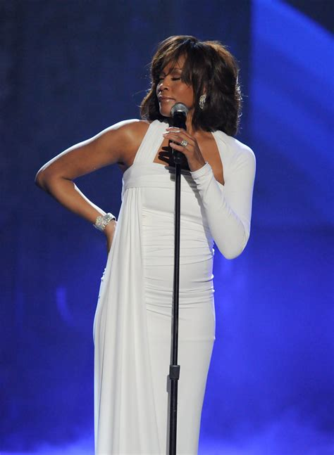 file whitney houston 21st american music awards february whitney houston photos photos 2009 american music awards