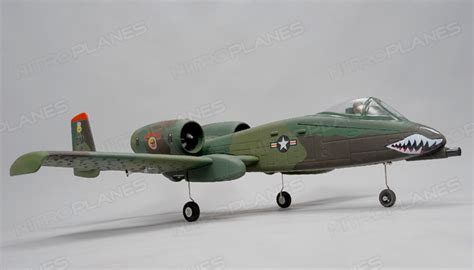 Dynam A 10 Thunderbolt Ii With Retracts 24g Dynam A 10 Thunderbolt Ii 64mm Edf Rc Jet With