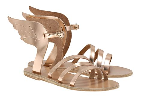 hermes winged sandals the brunettes demigod inspired footwear ancient