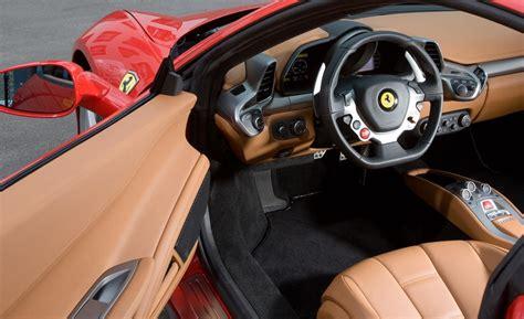 458 Italia Interior by Car And Driver