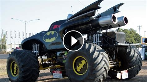 batman monster truck video monster trucks batman www pixshark com images