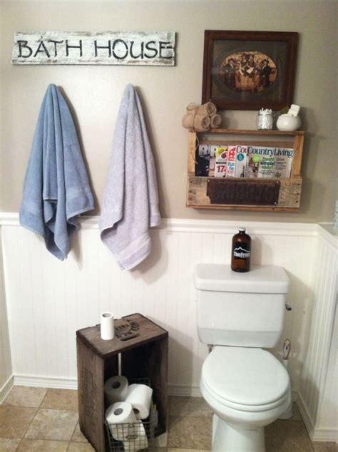 amazing rustic bathroom accessories
