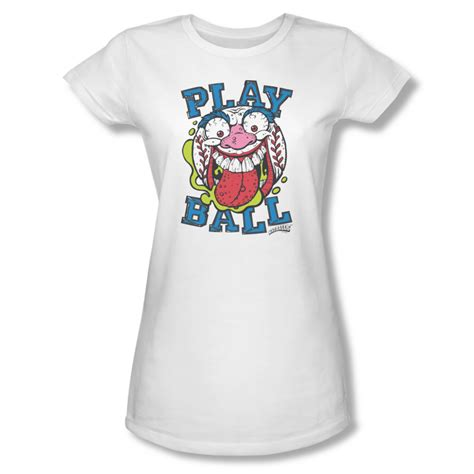 T Shirt Balls 3 mad balls shirt juniors play white t shirt mad