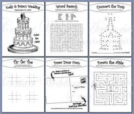 wedding activity book for template ang s wedding scrapbook 001 i used some new kco
