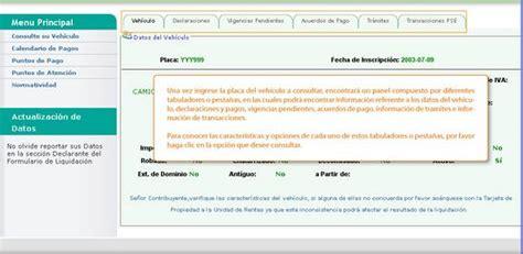 liquidar impuesto automotor pago impuesto automotor cali 2013 impuestos vehiculos