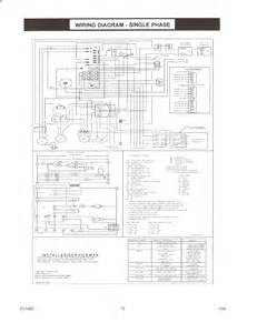 goodman gas package unit wiring diagram wiring diagram website