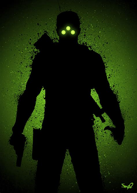 Shadow Cell shadow of a splinter cell by sno2 on deviantart
