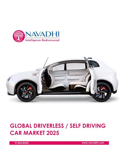 introduction to driverless self driving cars the best of the ai insider books global driverless self driving car market 2025 market