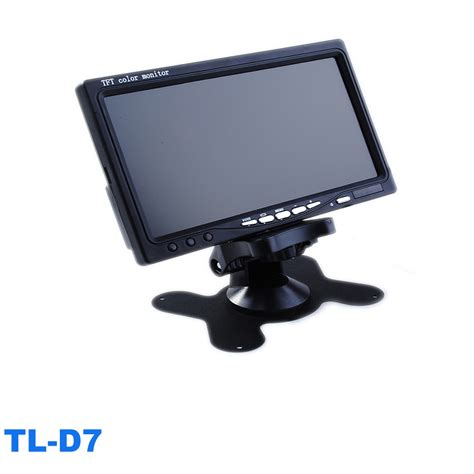 Monitor 7 Inch 7 inch car gps navigation tft lcd car monitor 7 inch tft