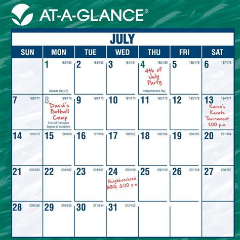 academic calendar wall planner 2015 2016 office organiser amazon com at a glance mini erasable monthly wall