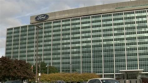 ford headquarters ford world headquarters evacuated due to smoke from
