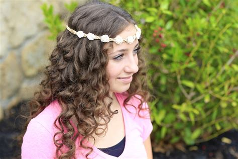 cute hairstyles no heat curls no heat curls cute girls hairstyles