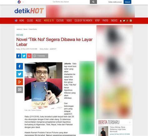 casting film layar lebar oktober 2014 detik com novel titik nol segera dibawa ke layar