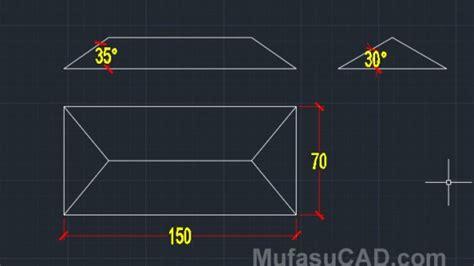cara membuat gambar rumah 3d autocad cara membuat atap rumah 3d di autocad mufasucad com