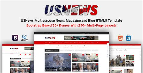 usnews multipurpose news magazine and html5