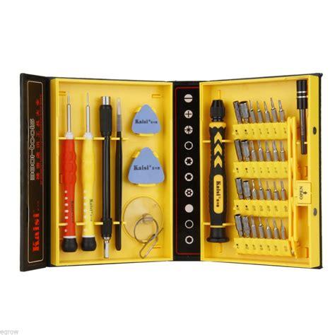 Kit Keselamatan Mobil 7 In 1 38 in 1 precision screwdriver set repair opening box magnetic tools kit for mobile cell phones