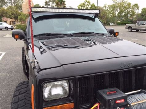 jeep vents jeep xj louvered aluminum bolt on cooling panels