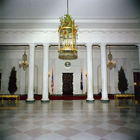 the christmas decorations in the east room of the white white house rooms christmas decorations east room red