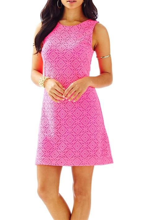 lilly pulitzer callie knit lace shift dress from sandestin