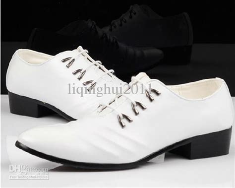 white cusp dress shoes s casual shoes groom wedding