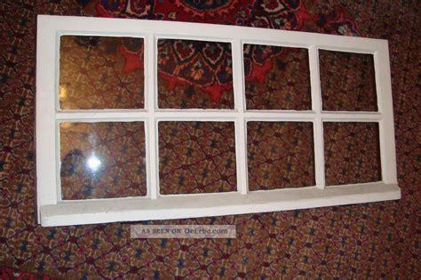 holzfenster deko altes fenster holzfenster eiche oberlicht handgezogen glas