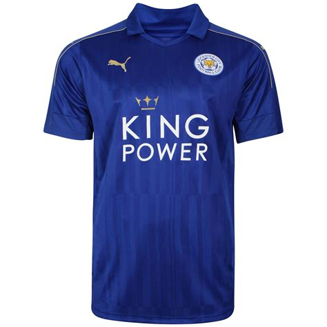 Leicester Home Jersey leicester city jersey 2016 17