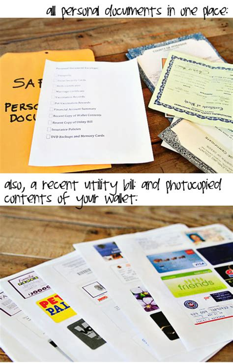 Personal Documents