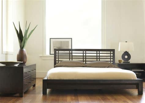 asiatische schlafzimmer sets asiatische betten sehen herrlich aus