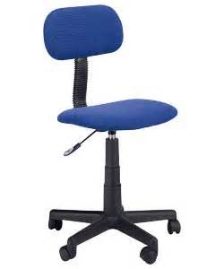 Blue Desk Chair Argos Argos Value Range Gas Lift Swivel Office Chair Blue