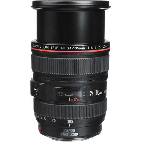 Lens Canon Es 86 White canon ef 24 105mm f 4 0l is usm zoom lens open box dslr lenses frame 1380c002 vistek