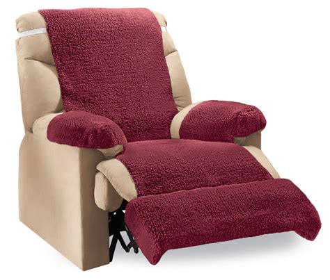 Furniture Covers For Recliners by Recliner Fleece Furniture Covers 4 Pc By Collections Etc Ebay