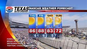 Weather Forecast For Tx Nascar Wx 187 Nascar At 2012 Weather Forecast