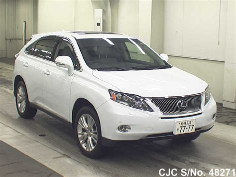 lexus rx used for sale 2009 lexus rx 450h pearl for sale stock no 48271