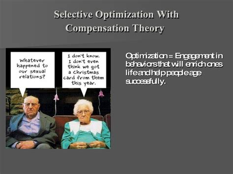 Selective Optimization With Compensation Essay by Psychological Aging Presentation