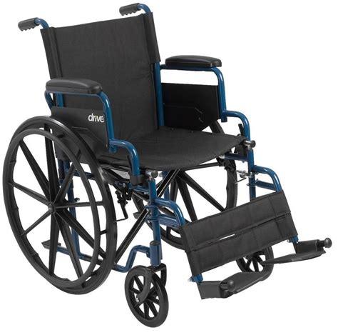 lightweight folding wheelchair with swingaway legrest by