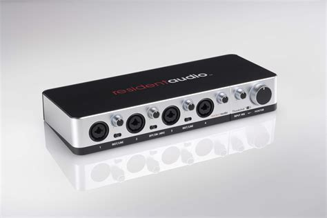 Resident Audio T4 resident audio t4 powered multichannel thunderbolt interface introduced resident audio t4