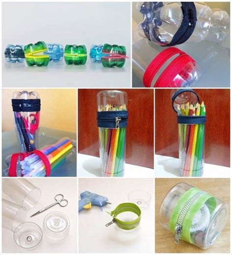 How To Make Useful Things Out Of Paper - 9 useful things made entirly by reusing plastic bottles
